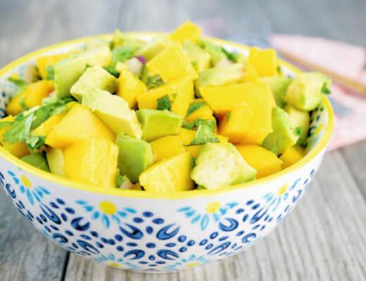 Thai-Mango-Salat